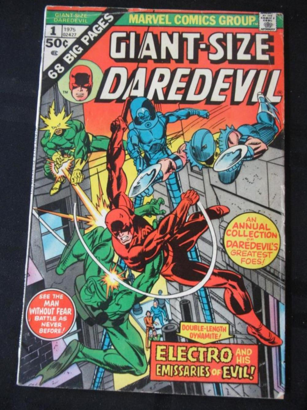 Giant Size Daredevil 50c #1 Annual Collection