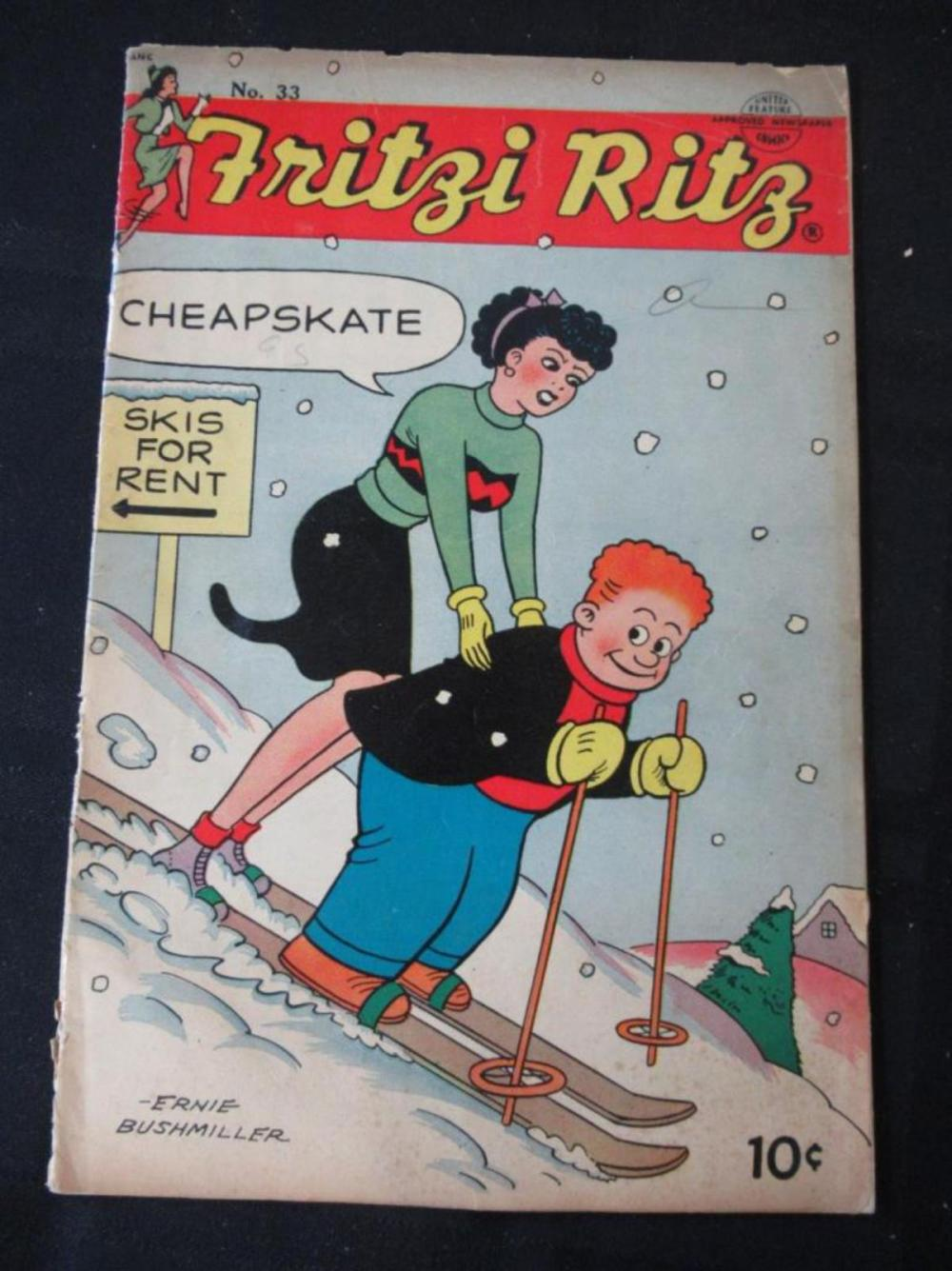 Fritzi Ritz 10c #33 Skis For Rent - Cheapskate