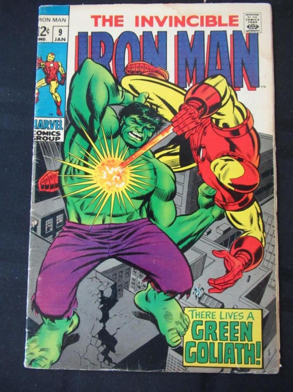 The Invincible Iron Man 12 #9 The Green Goliath
