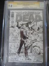 Lot 182: Walking Dead 10th Anniversary Edition #1 CGC 9.8