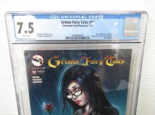 Lot 189: Grimm Fairy Tales #92 CGC 7.5 1 of 3 covers