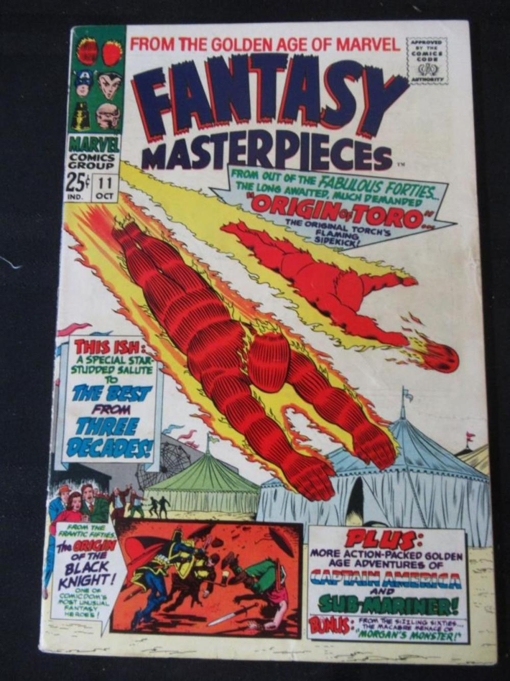 Fantasy Masterpieces 25c #11 Origin of Toro