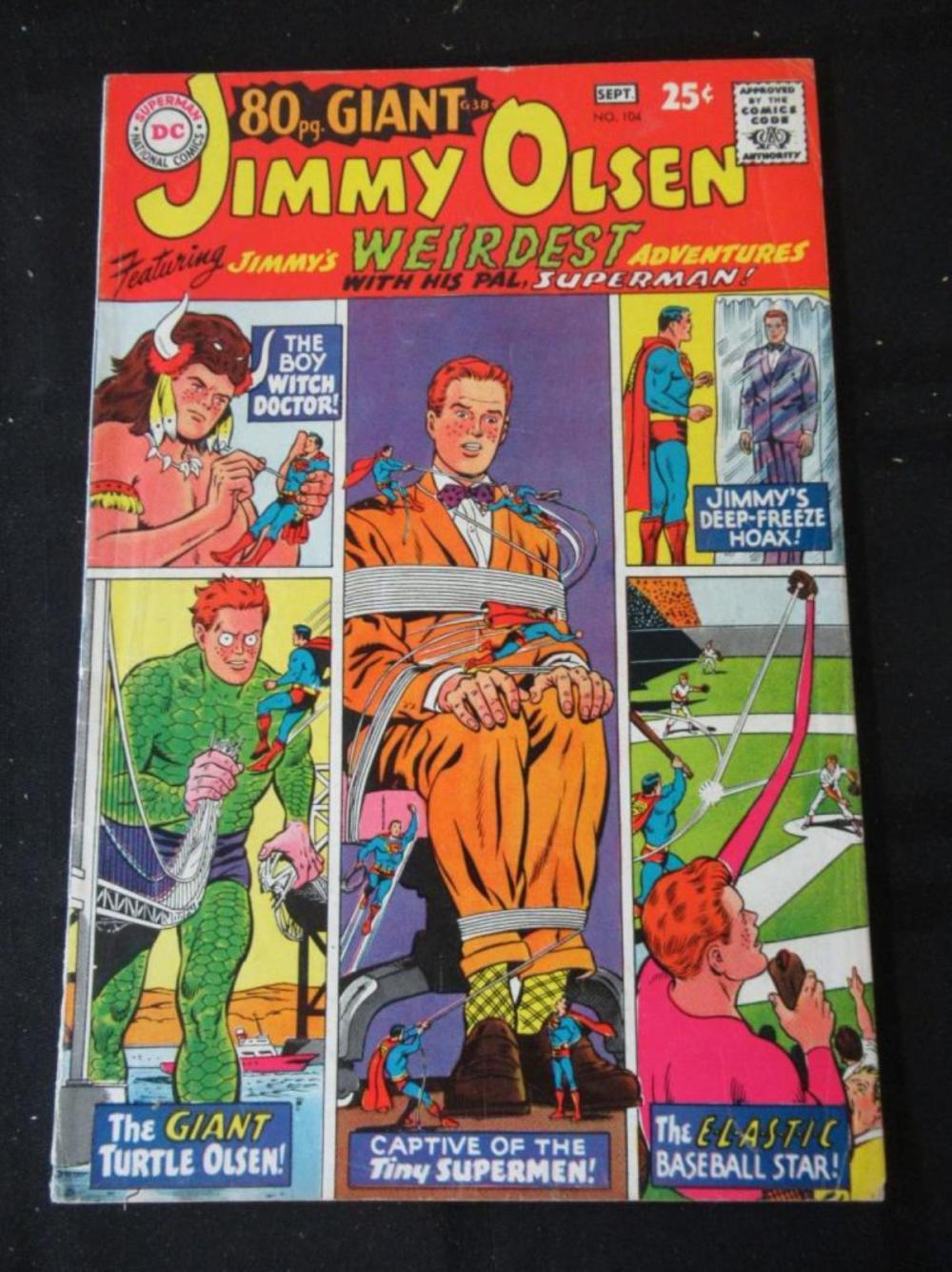Jimmy Olsen 25c #104 Wierdest Adventures