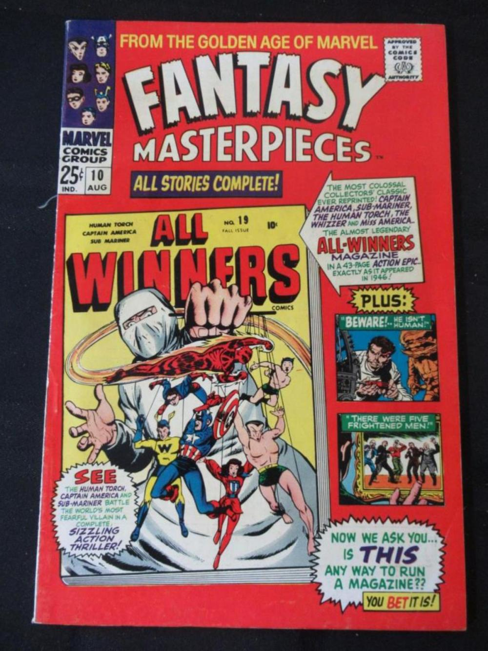 Fantasy Masterpieces 25c #10 All-Winners
