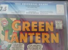 Lot 191: Green Lantern #40 CGC 7.5 Crossover, 1st Krona