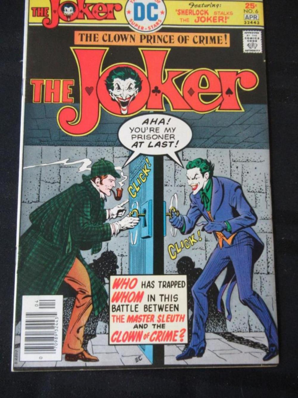 The Joker 25c #6 Master Sleuth and Clown of Crime