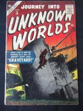 Lot 194: Journey Into Unknown Worlds 10c #58 Graveyard