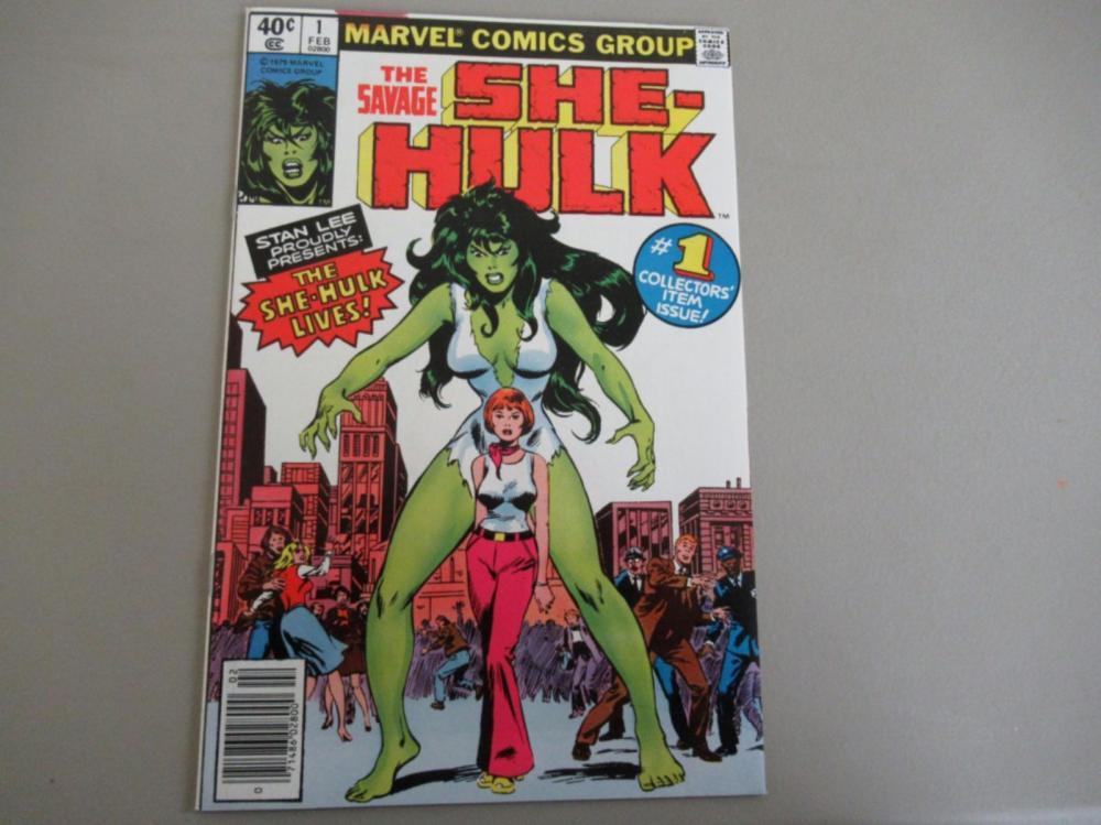 The Savage She-Hulk #1 Stan Lee presents