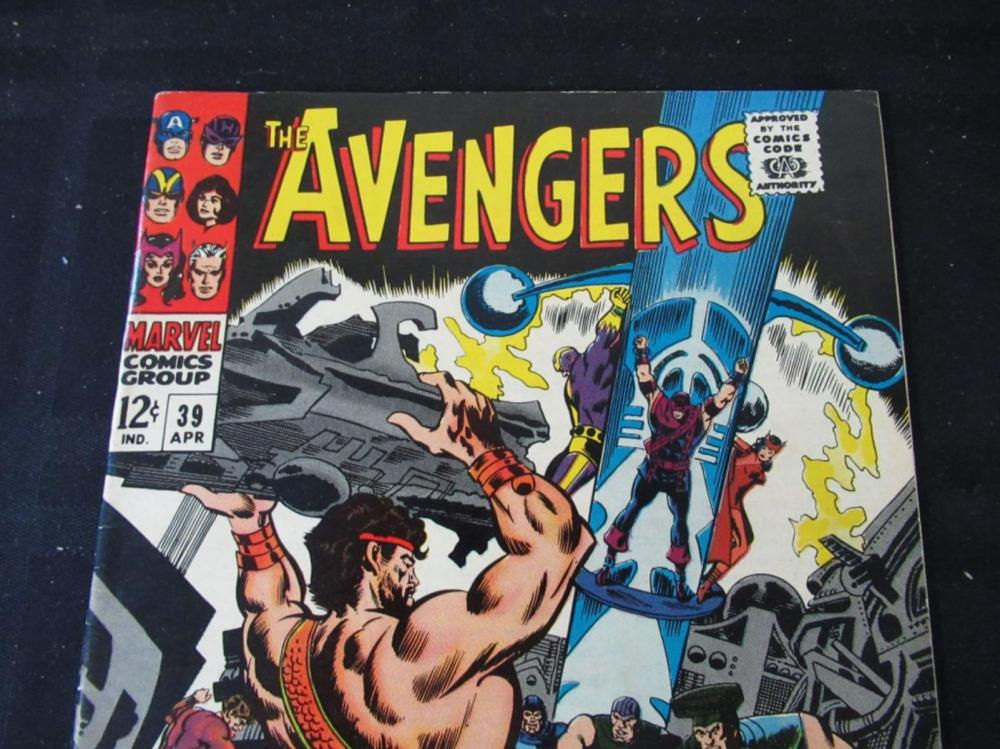 Lot 207: The Avengers 12c #39 Triumvirate of Terror