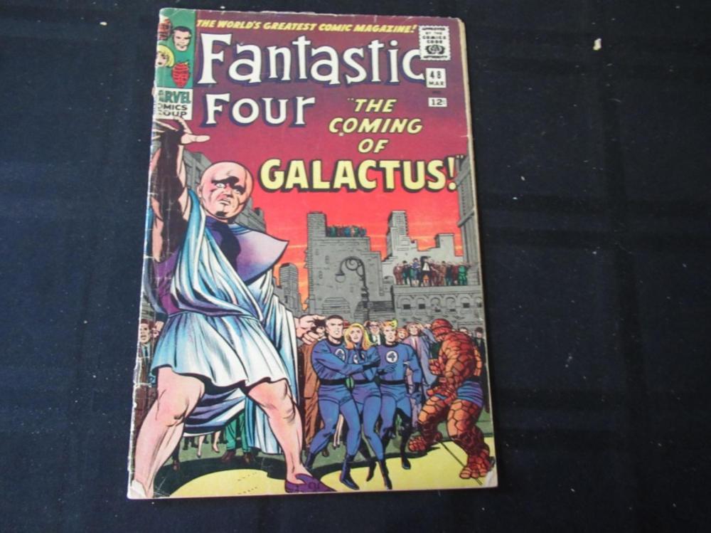 Lot 211: Fantastic Four #48 1965 12c Galactus