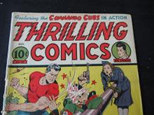 Lot 212: Thrilling Comics #38 1943 10c Commando cubs