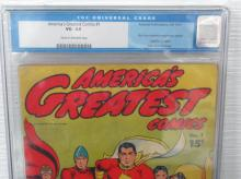 Lot 219: America's Greatest Comics #1 CGC 3.5