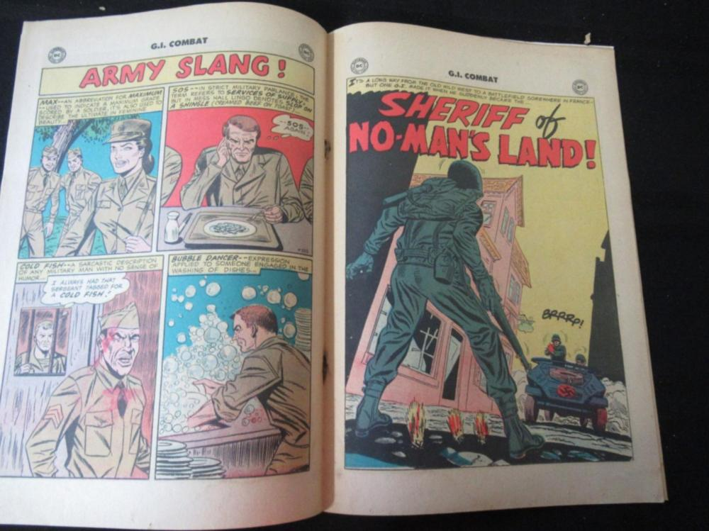 Lot 218: G.I. Combat #57 1958 10c Livewire for Easy