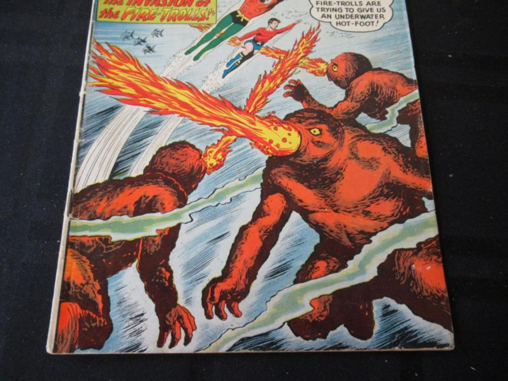 Lot 220: Aquaman #1 1962 12c Invasion of Fire-Trolls