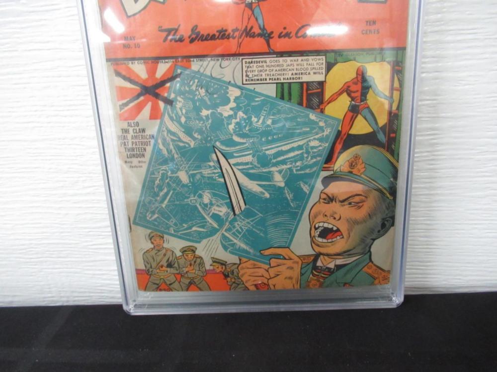 Lot 224: Daredevil Comics #10 CGC 3.0 Claw Story