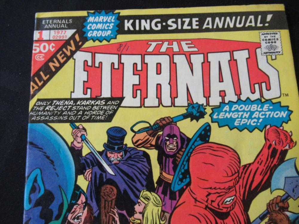 Lot 226: The Eternals 50c #1 King Size Annual 1977