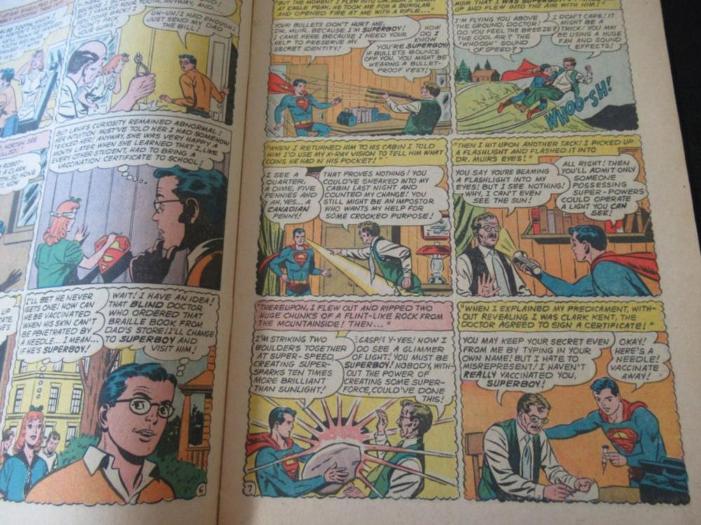 Lot 234: Superboy 10c #87 featuring Superbaby