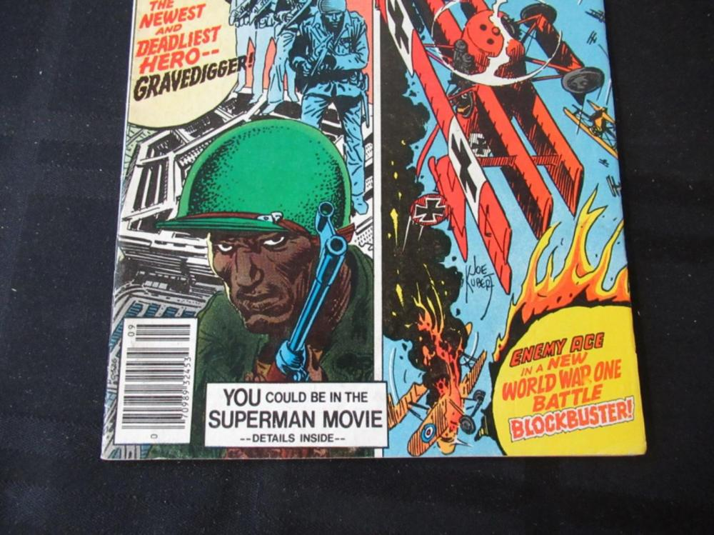 Lot 238: Men of War 35c #2 Gravedigger