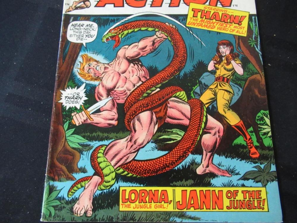 Lot 239: Jungle Action 20c #3 Starring Tharn