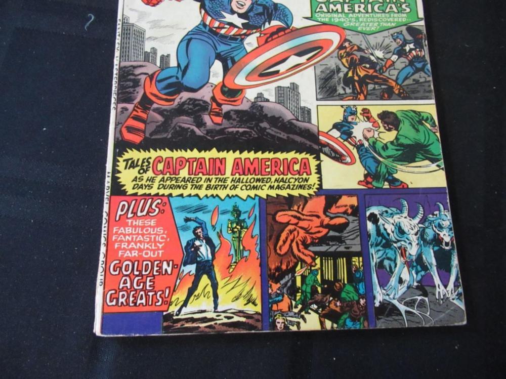Lot 243: Fantasy Masterpieces 25c #3 Captain America