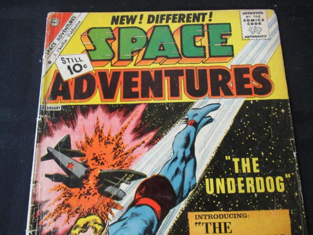 Lot 246: Space Adventures 10c V3 #44