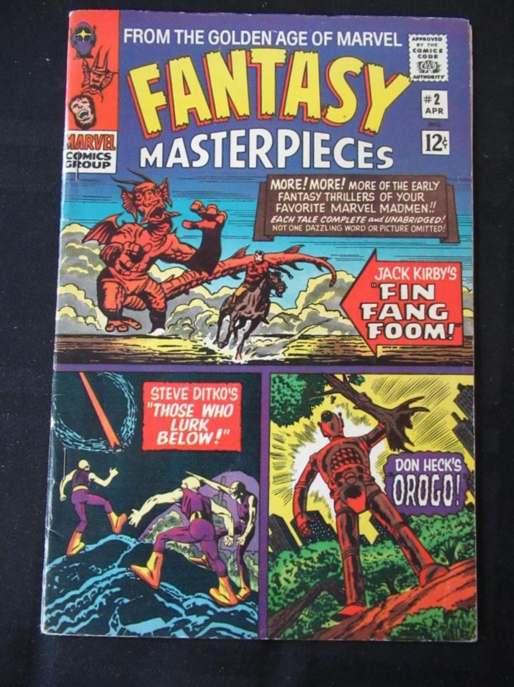 Lot 247: Fantasy Masterpieces 12c #2 Fin Fang Foom