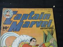 Lot 254: Captain Marvel #53 1946 10c Gets Promoted