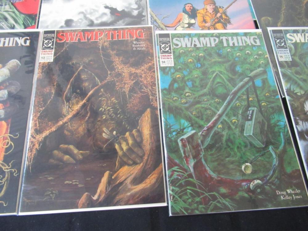 Lot 251: 15 Swamp Thing # between 65-96