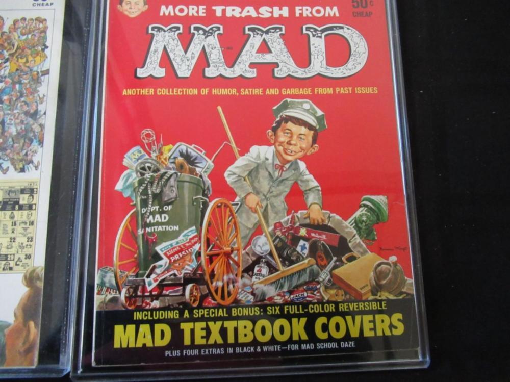 Lot 260: 4 Mad Magazines - 3 Trash & 1 Follies