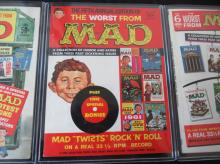 Lot 261: 3 Worst From Mad Magazines 5th, 6th, 7th Annuals