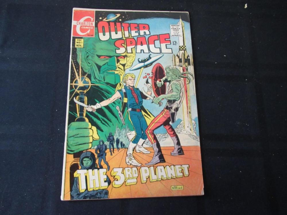 Lot 269: Outer Space #1 1968 12c The 3rd Planet
