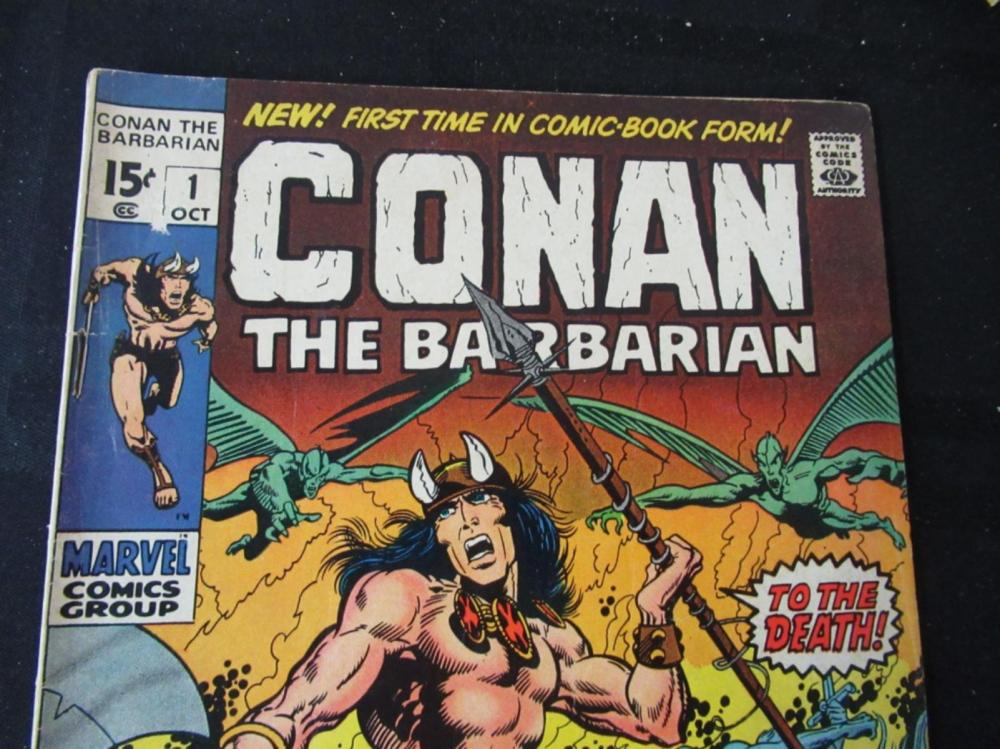 Lot 271: Conan #1 1970 To The Death 15c