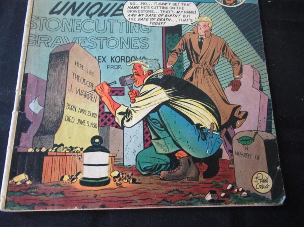Lot 270: Tales From The Crypt #20 1950 10c