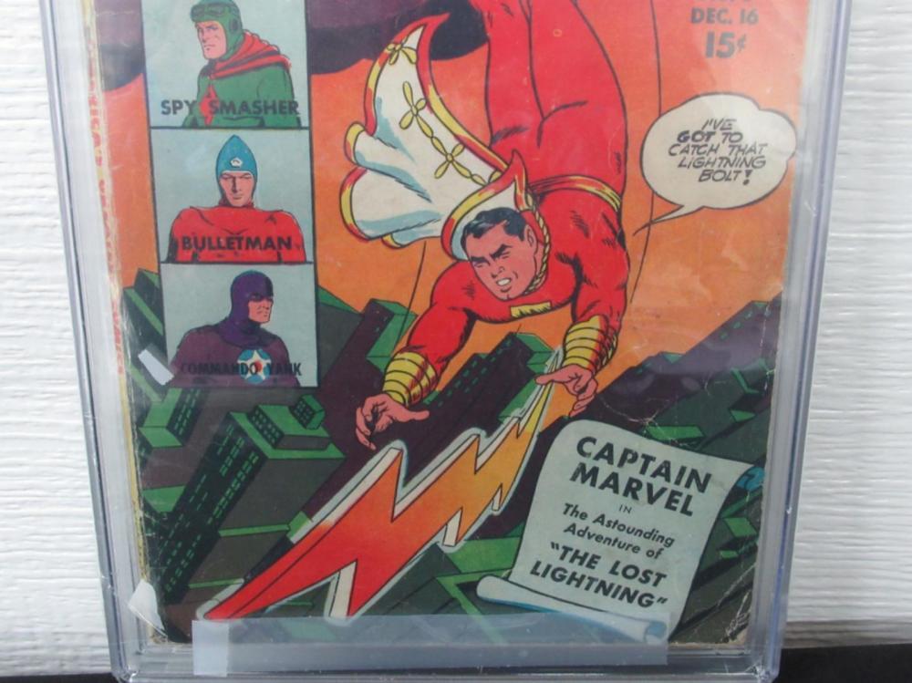 Lot 280: America's Greatest Comics #5 CGC 3.5