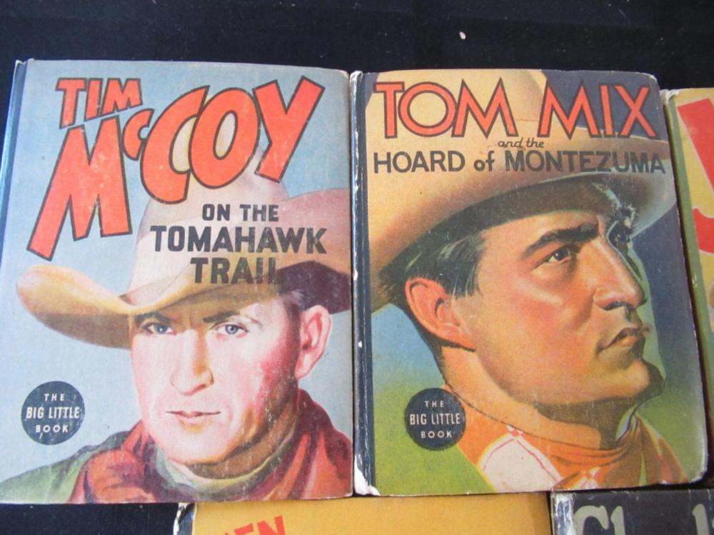 Lot 276: 5 The Better Little Books: Charlie Chan, Tom Mix