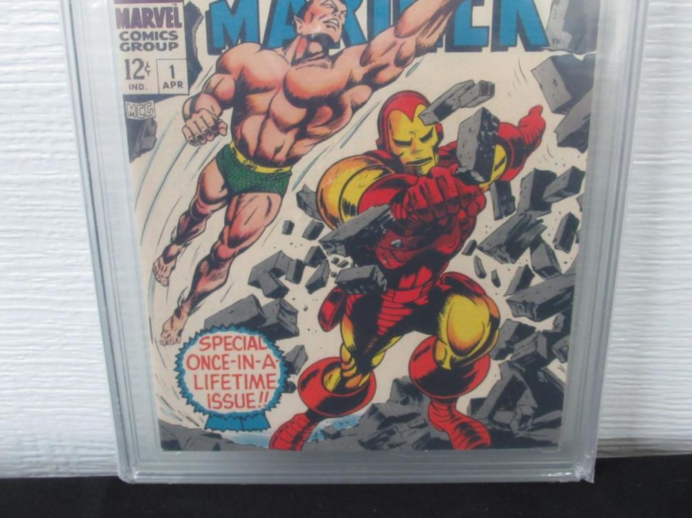 Lot 283: Iron Man & Sub-Mariner #1 CGC 9.4 pre-dates