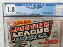 Lot 286: Brave and the Bold #28 CGC 1.8 1st JLA, Starro