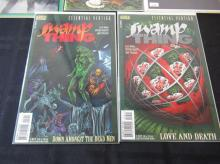 Lot 288: 5 Swamp Thing Annual 1 &3, Saga 2, (2) Essentials