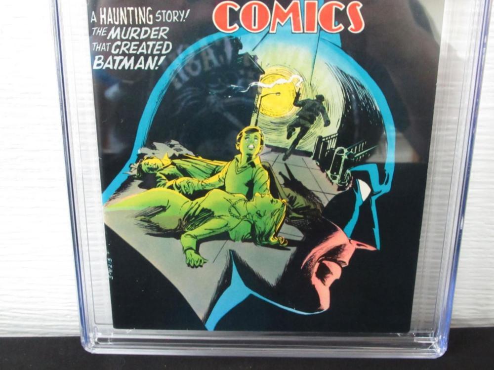 Lot 292: Detective Comics #457 CGC 8.5 1st Leslie Thompkins