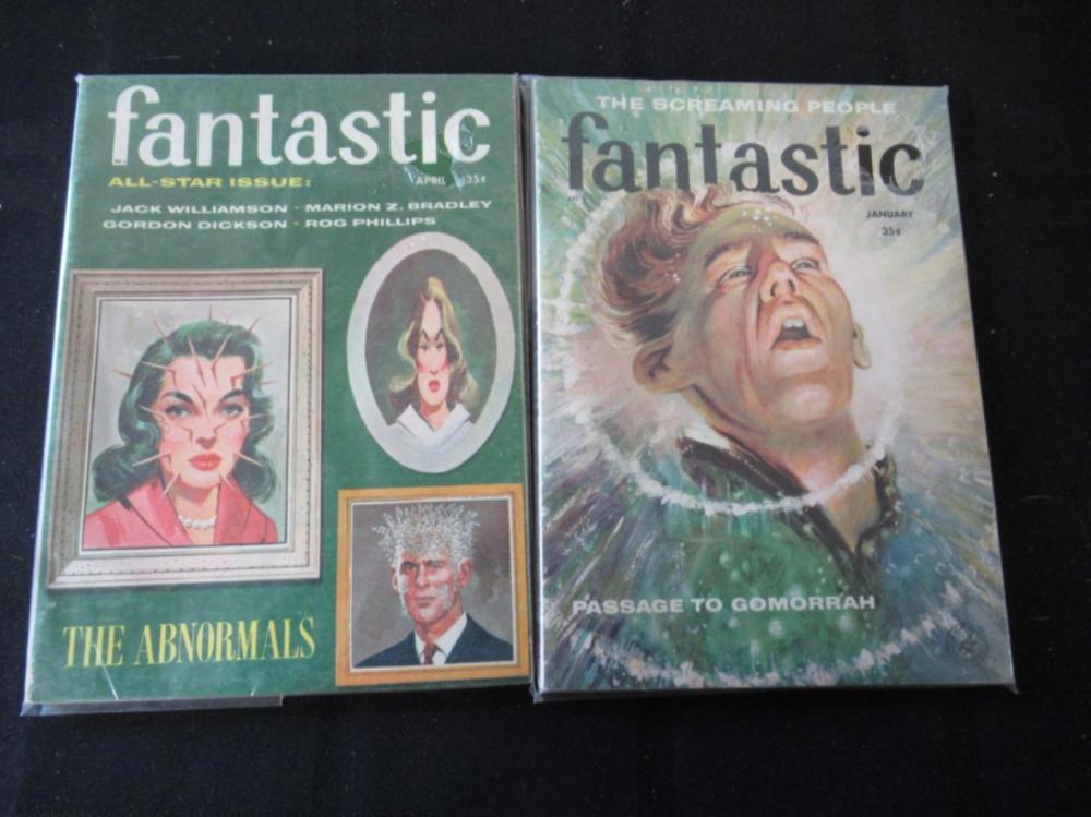 Lot 295: Fantastic Novels April & January 35c