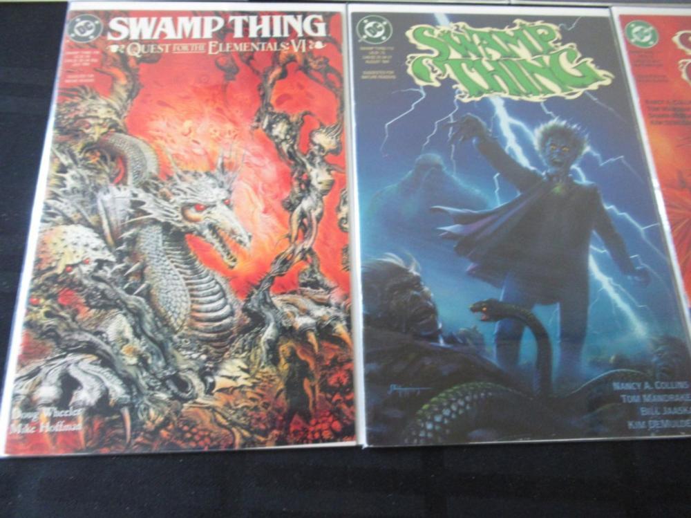 Lot 305: 9 Swamp Thing #102, 104, 105, 107-112