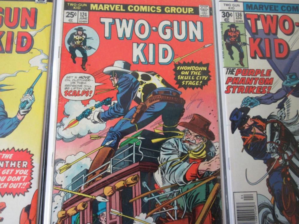 Lot 307: 3 Two-Gun Kid #119, 124, 136