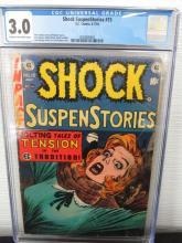 Lot 314: Shock SuspenStories #15 CGC 3.0