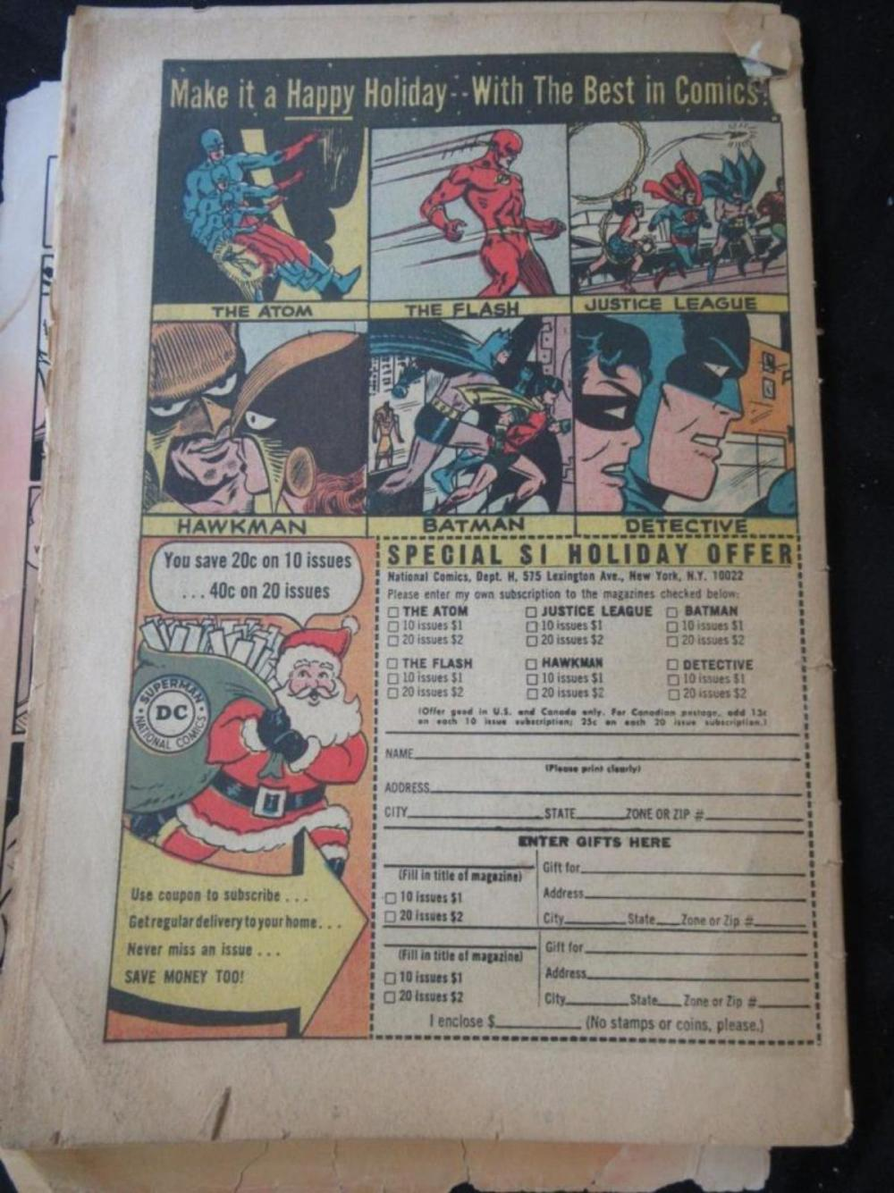 Lot 319: Batman 12c #169 Penguin is back