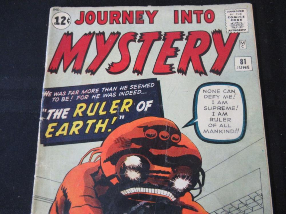 Lot 320: Journey Into Mystery 12c #81 The Ruler of Earth