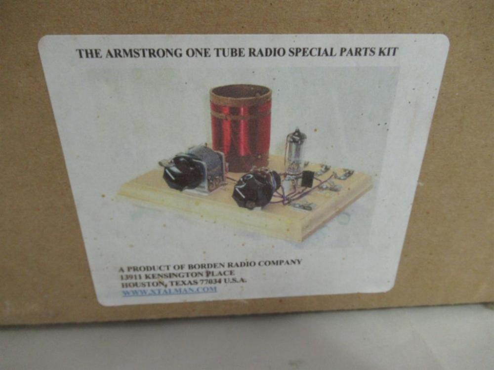 Borden Armstrong One Tube Radio Special Parts kit