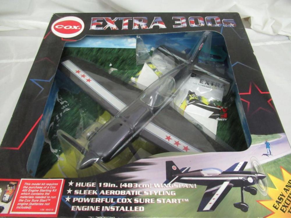 COX Extra 300S Aerobatic Control Line Flying Airpl