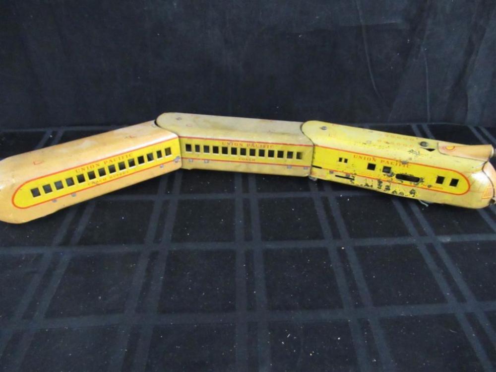 Art Deco Metal HO/O Scale Train Union Pacific USPS