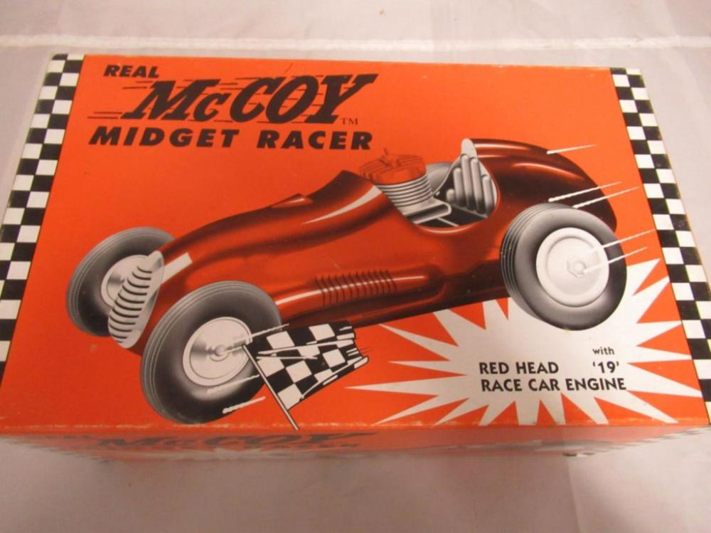 Real McCoy Midget Racer Red Head Nylint in box