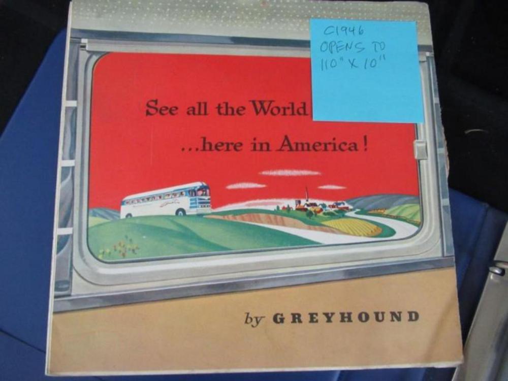Bus Routes & Schedules 1920-1940's (1) 1961